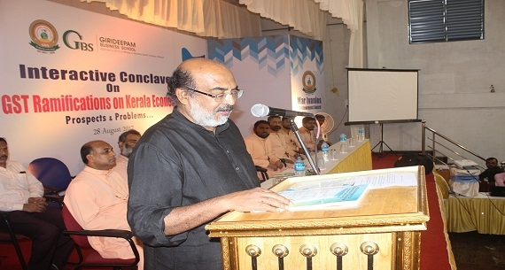Interactive Conclave on GST   by  Dr. T.M.Thomas Isaac, Finance Minister, Kerala